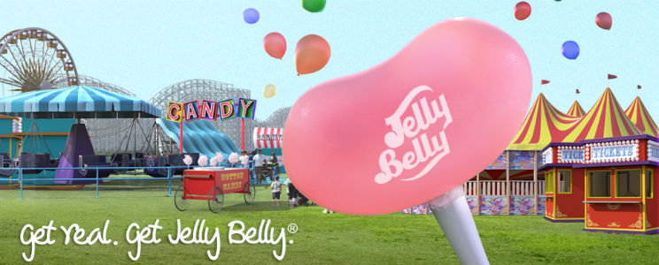 Connect with Jelly Belly through Social Media